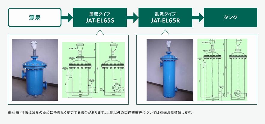 気水分離器 JAT-EL65S/JAT-EL65R
